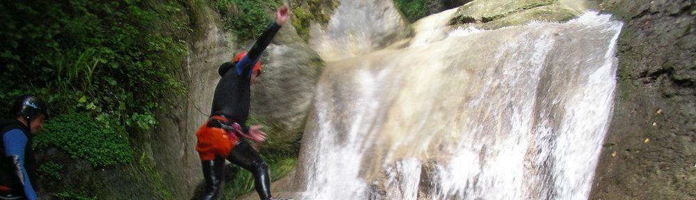 Savoie Canyoning
